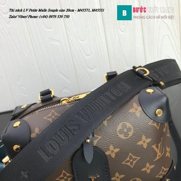 Túi xách LV Petite Malle Souple siêu cấp
