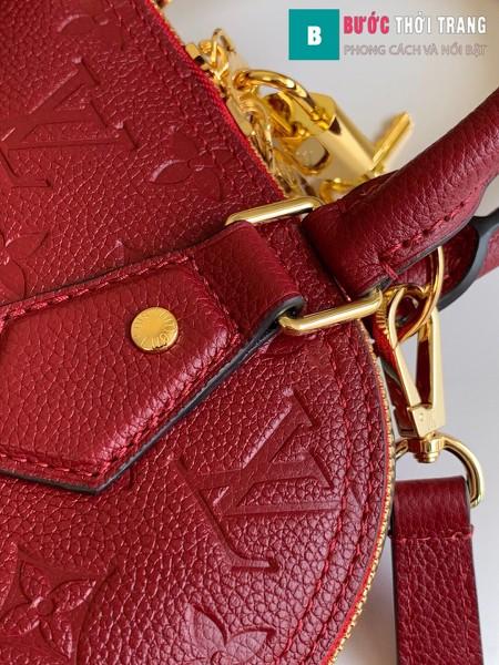 Túi xách LV Louis Vuitton Neo Alma BB siêu cấp màu đỏ size 25 cm - M44829