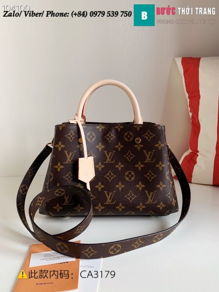 Túi Louis Vuitton Montaigne BB Monogram - LV M41055