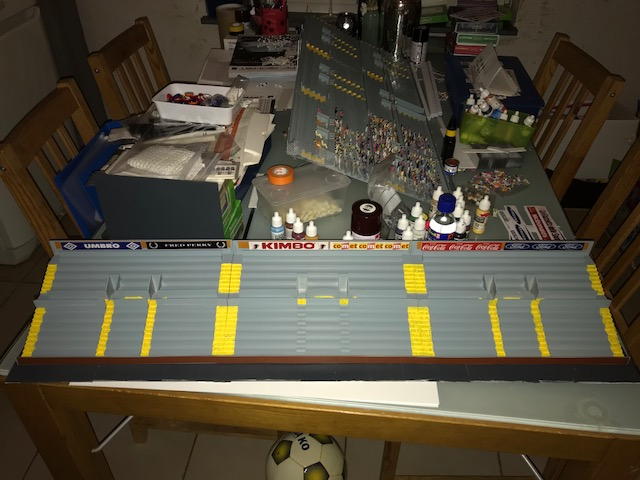 Typical UK 80's stand - The Independent Subbuteo Forum (est