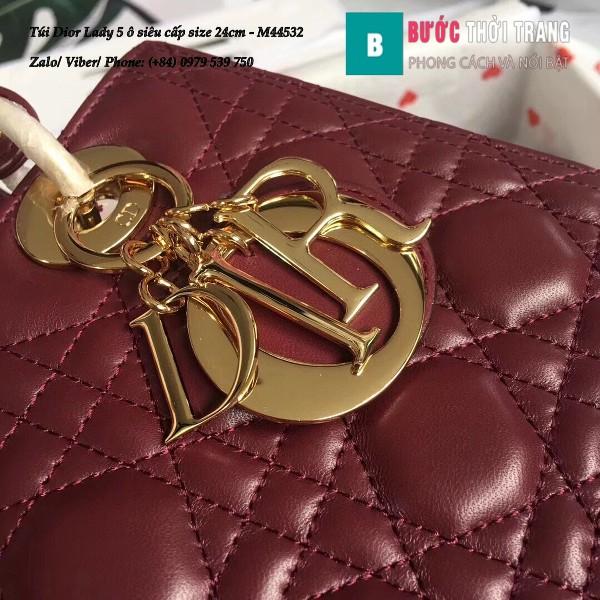 Túi Dior Lady 5 ô 24cm