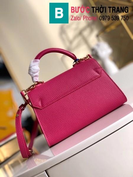 Túi xách Louis Vuitton Twist One Handle PM siêu cấp màu hồng size 25 cm - M57093