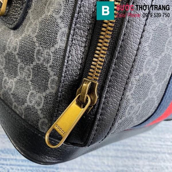 Túi xách Gucci Ophidia GG small backpack siêu cấp viền đen size 22 cm - 547965