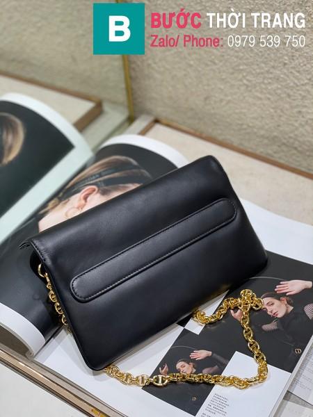 Túi xách Dior Small Diordouble Bag siêu cấp da bê màu đen size 22cm - 6842