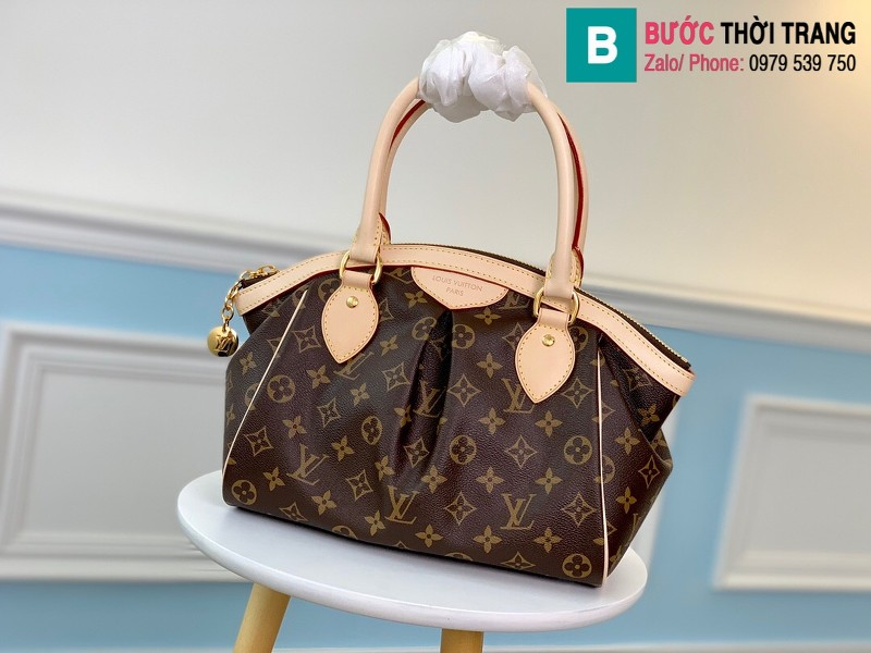 Túi Louis Vuitton Monogram Tivoli Pm Handbag siêu cấp màu nâu size 36 cm - M40143
