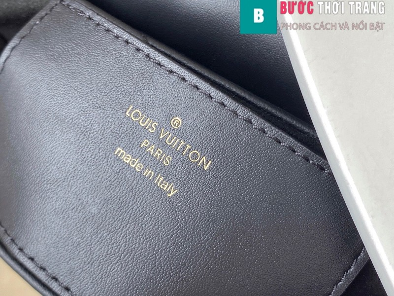 Túi xách LV Louis Vuitton New wave Multi-Pochete siêu cấp màu đen size 19cm - M56461