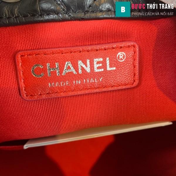 Túi xách Chanel Gabrielle Backpack siêu cấp màu đen size 24cm - A94485