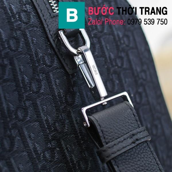 Túi xách Dior Oblique Bag siêu cấp cỡ lớn vải casvan màu 2 size 48cm