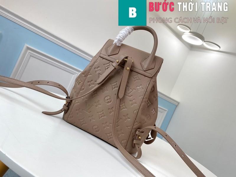 Túi Xách LV Louis Vuitton Montsouris Backpack siêu cấp màu da size 27.5cm - M54510
