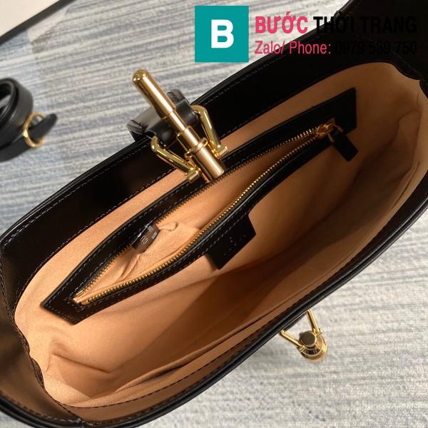 Túi xách Gucci Jackie 1961 small hobo bag siêu cấp màu đen size 28 cm - 636709