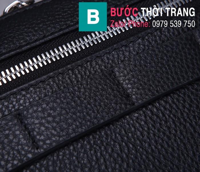 Túi xách Dior Homme Mens Bag siêu cấp da bê màu đen 1 size 22cm - 93307