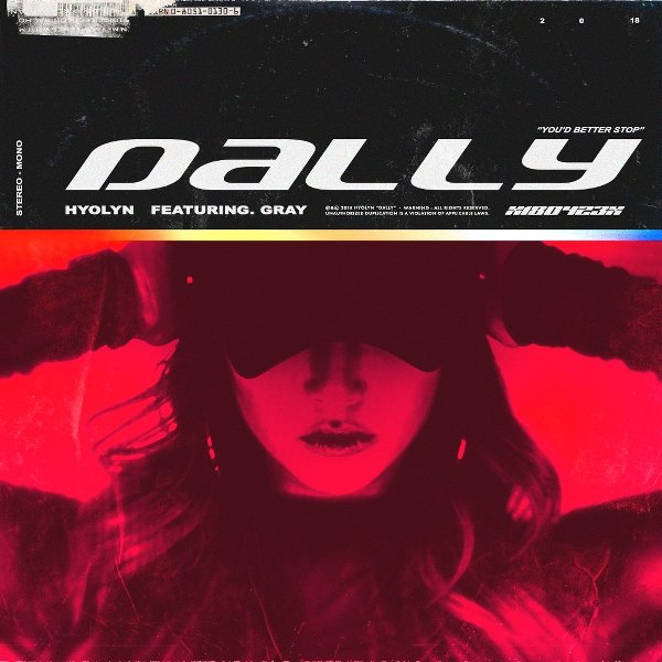 Download HYOLYN - 달리 (Dally) (Feat. GRAY) Mp3