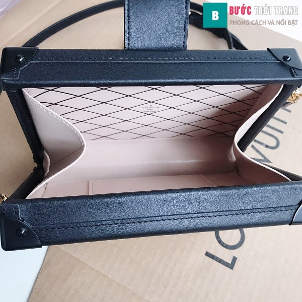 Túi xách LV Petite Malle siêu cấp màu da size 20 cm - M40273