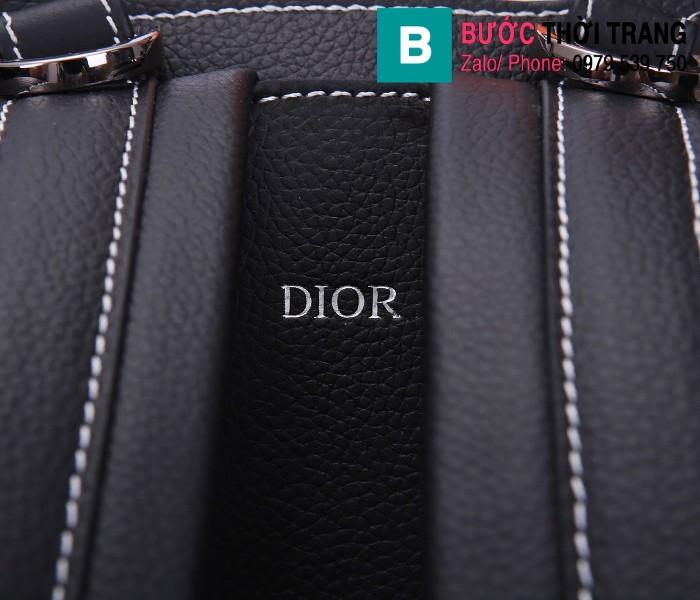Túi ba lô Dior Homme Oblique siêu cấp da bê màu 5 size 19cm - 93313