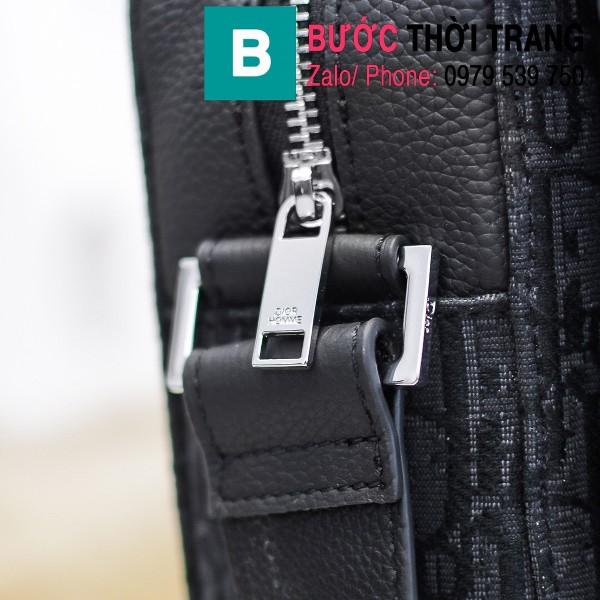 Túi xách Dior Oblique Bag siêu cấp cỡ lớn vải casvan màu 2 size 33cm