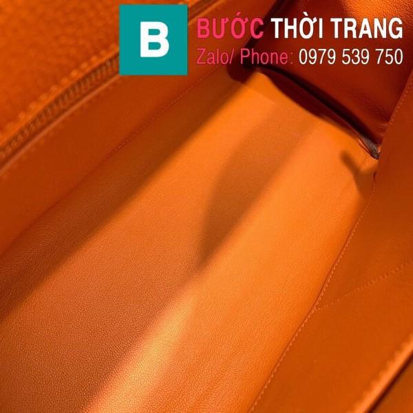 Túi xách Hermes Kelly siêu cấp da togo màu cam size 28cm