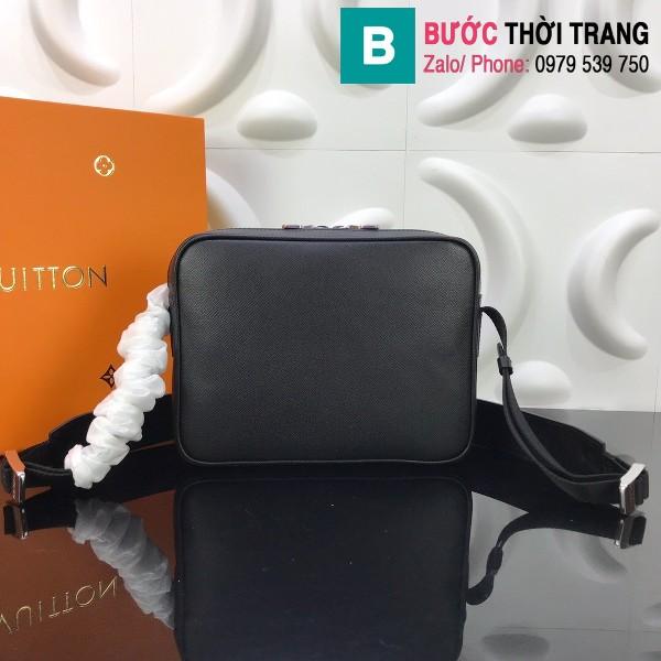 Túi Louis Vuitton Outdoor Messenger siêu cấp màu đen size 25cm - M30241