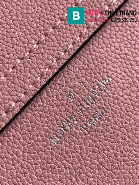 Túi xách Louis Vuitton Lockme Tender siêu cấp da bê màu hồng size 19cm