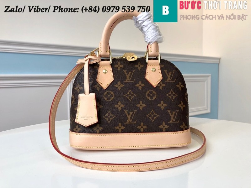 Túi Louis Vuitton Alma BB Monogram Canvas - LV M53152