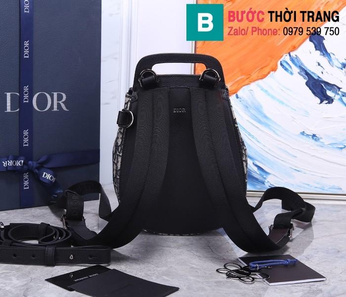 Túi ba lô Dior Homme Oblique siêu cấp vải casvan màu 2 size 19cm - 93313