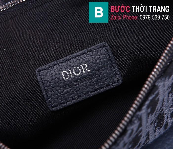 Túi xách Dior Saddle Bag {túi yên ngựa} siêu cấp vải canvas màu 2 size 20 cm