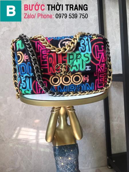Túi xách Chanel 19bag siêu cấp da bê nhiều màu size 30cm - AS1161
