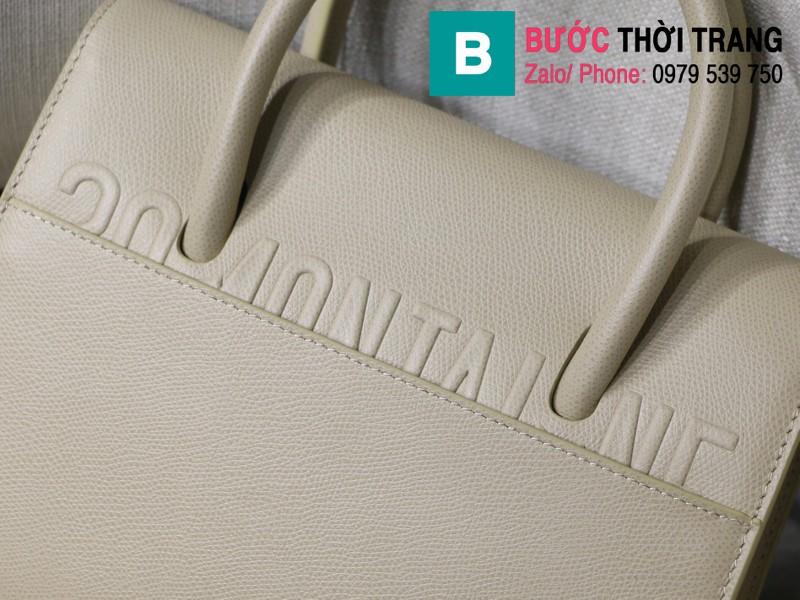 Túi xách Dior St. Honoré Bag siêu cấp da bê màu gelet size 25cm