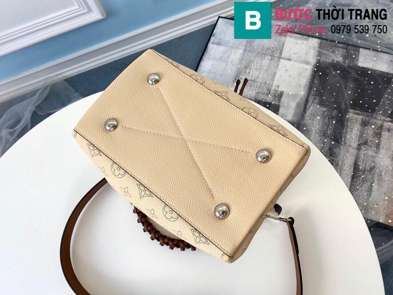 Túi xách Louis Vuitton Muria siêu cấp da bê màu galet size 25 cm - M55801