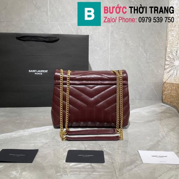 Túi  xách YSL Saint Laurent LouLou bag siêu cấp màu đỏ đô size 25cm - 494699