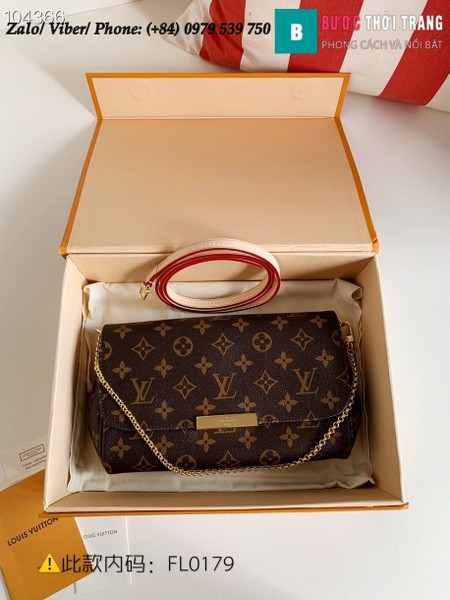 Túi Louis Vuitton Favorite MM Monogram Canvas - LV M40718