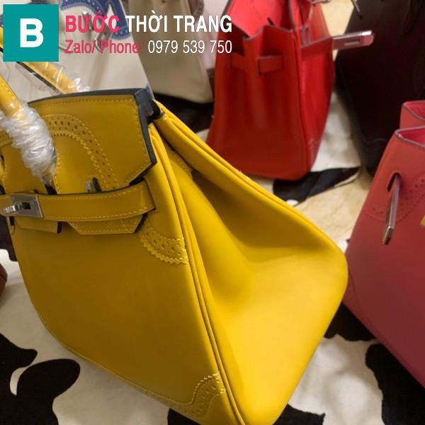 Túi xách Hermes Birkin siêu cấp da Togo màu vàng size 30cm
