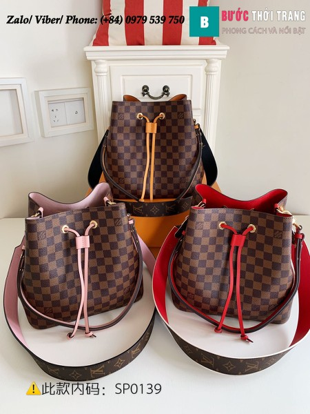 Túi Louis Vuitton NéoNoé MM Damier Ebene Canvas - LV N40214