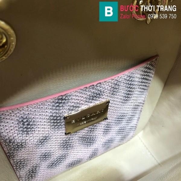 Túi Bvlgari Serventi Cabochon ba lô siêu cấp da rắn màu 1 size 18cm