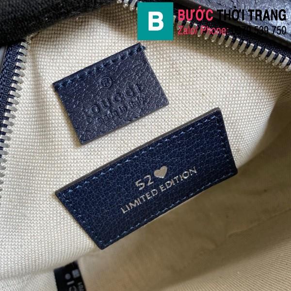 Túi xách Gucci Multicolour shoulder bag siêu cấp casvan màu đỏ size 19cm - 658825