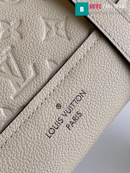 Túi xách LV Louis Vuitton Neo Alma BB siêu cấp màu trắng ngà size 25 cm - M44829