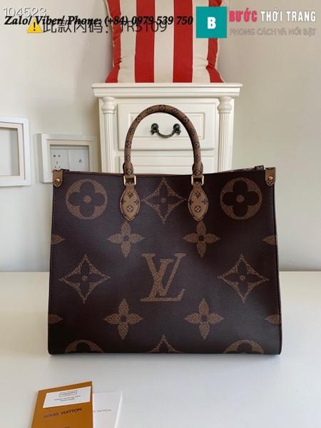 Túi Louis Vuitton OnTheGo GM Monogram Empreinte - LV M44576