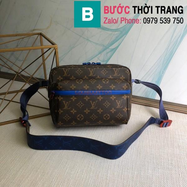 Túi xách Louis Vuitton Messenger siêu cấp monogram màu nâu size 25cm - M43843