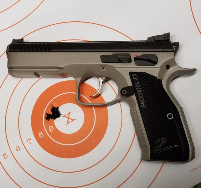 CZ P10 F range report - AR15 COM