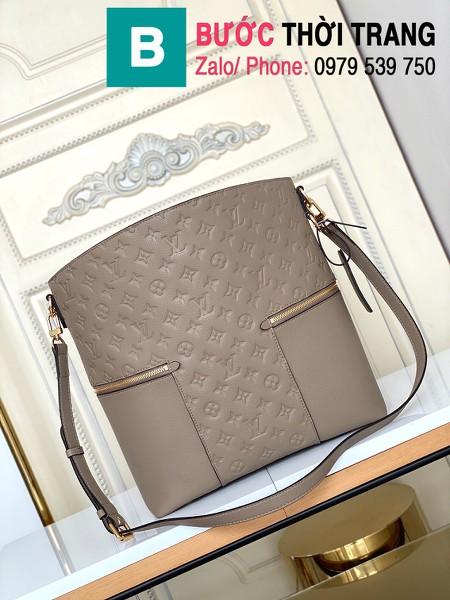 Túi xách LV Louis Vuitton Melie siêu cấp da bò màu galet size 31cm - M44014