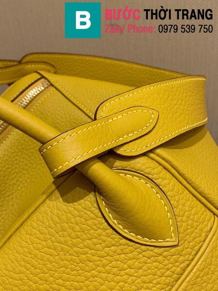 Túi xách Hermes Lindy siêu cấp da thật màu vàng size 26cm