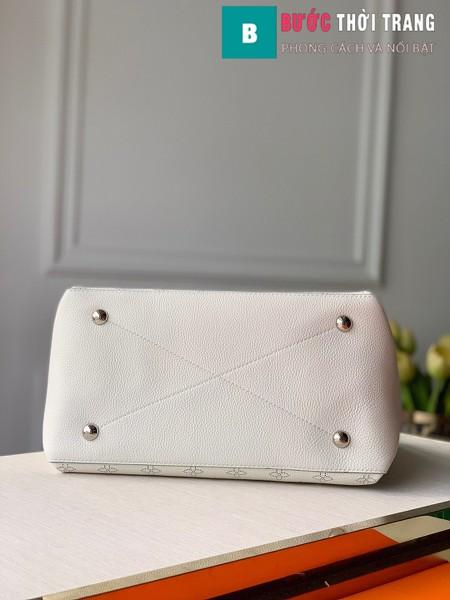 Túi xách LV Louis Vuitton Beaubourg Hobo siêu cấp màu trắng size 32 cm - M56201