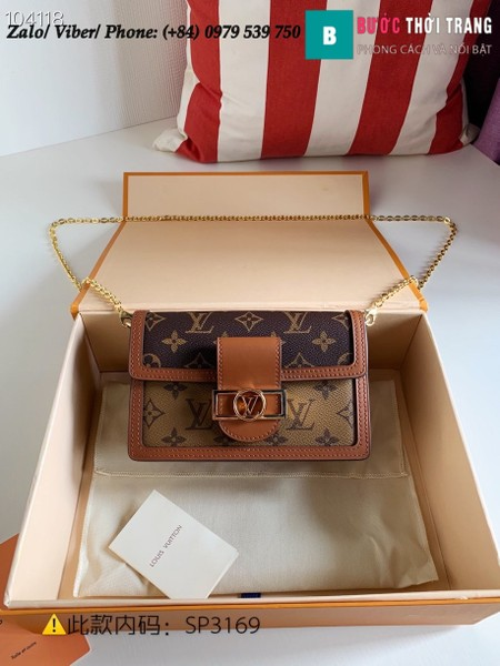 Túi Louis Vuitton Dauphine Chain Wallet Monogram Canvas - LV M68746