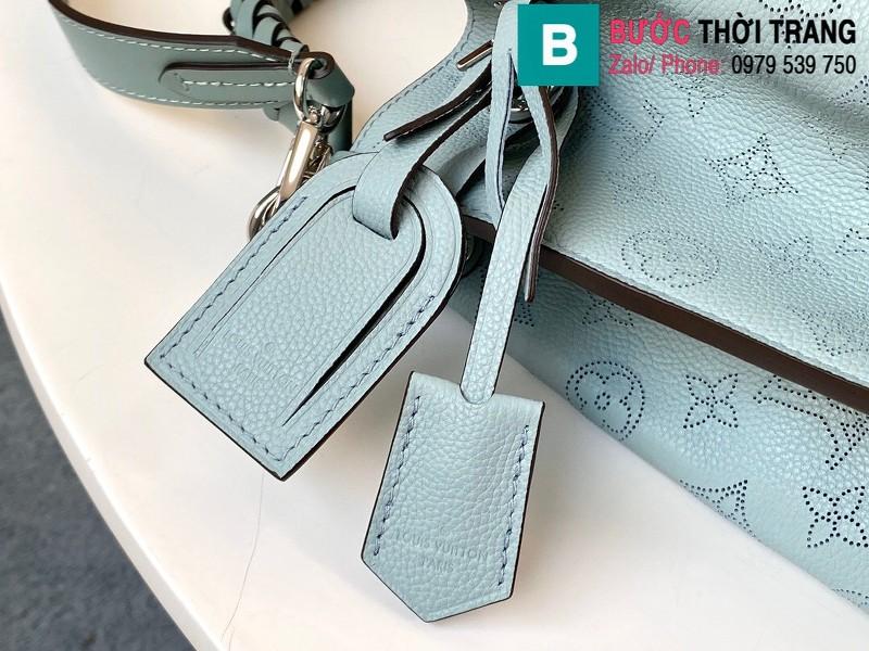 Túi xách Louis Vuitton Muria siêu cấp da bê màu xanh size 25 cm - M55906