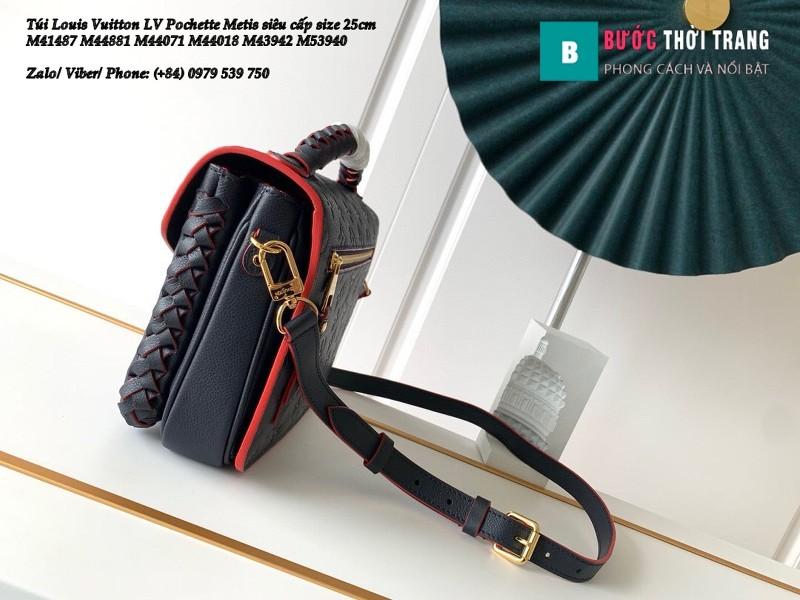 Túi xách LV Pochette Metis siêu cấp xanh lam