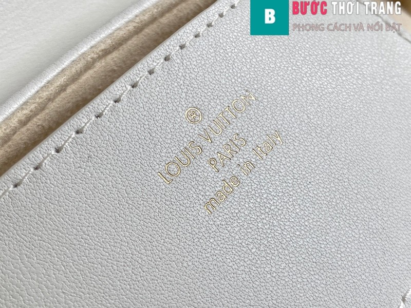 Túi xách LV Louis Vuitton New wave Multi-Pochete siêu cấp màu trắng size 19cm - M56466