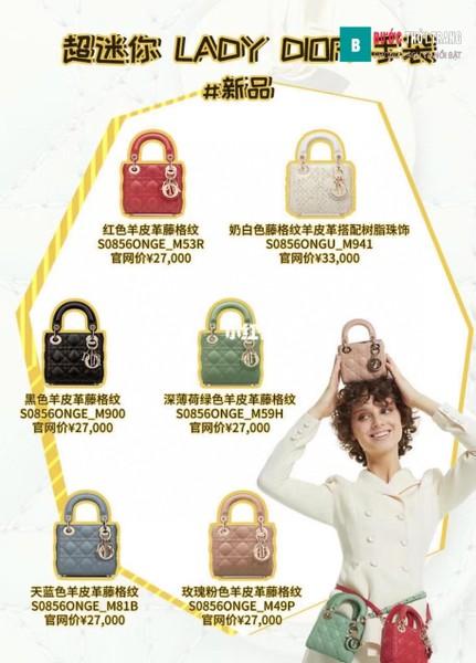 Túi Dior Lady Micro Bag