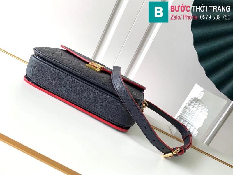 Túi Louis Vuitton Pochette Mettis siêu cấp màu xanh đen size 25 cm - M41487