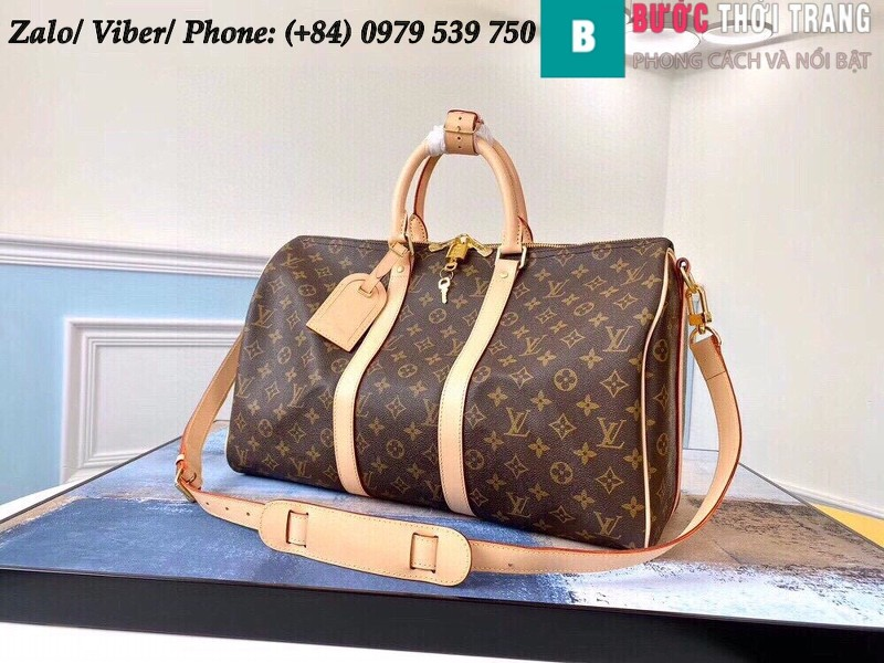 Túi Louis Vuitton Keepall Bandoulière 45 Monogram - LV M41418
