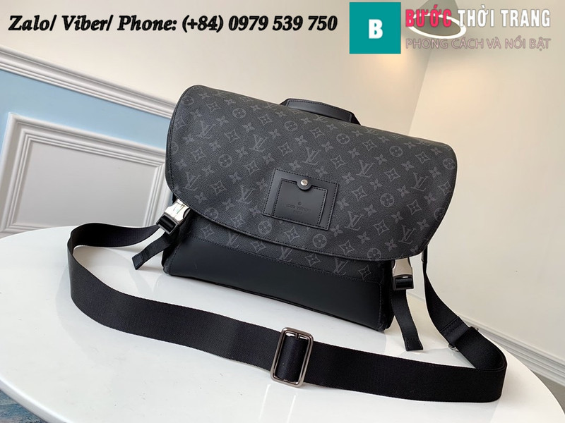 Túi Louis Vuitton Messenger MM Voyager Monogram Eclipse - LV M40510