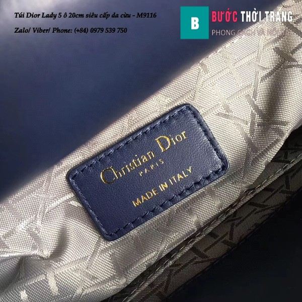 Túi Dior Lady 5 ô siêu cấp